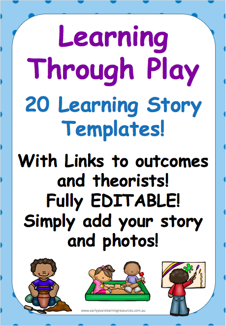 Learning Through Play Templates