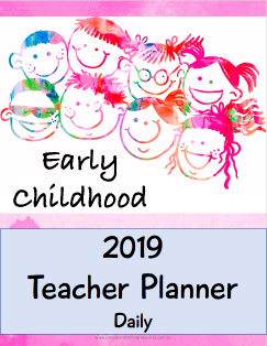 2019 Teacher Planner - EYLF Edition