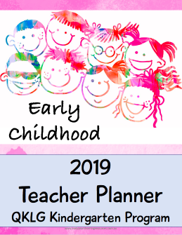2019 Teacher Planner - QKLG Edition